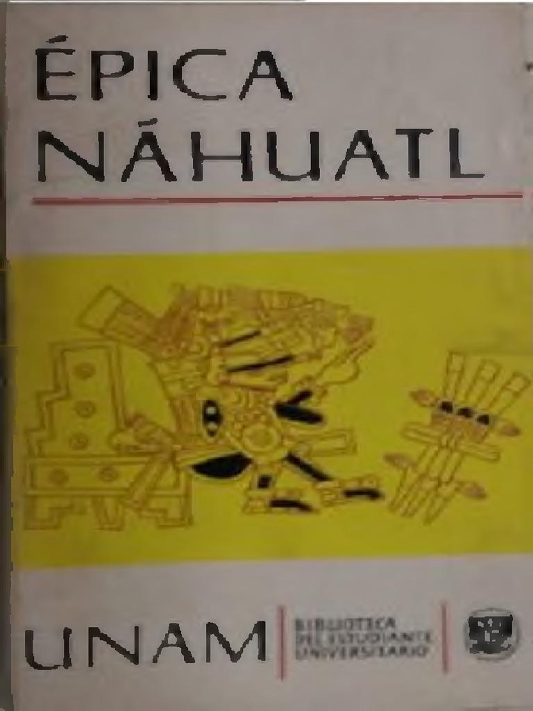 Nahuatl Garibay Angel Ma Epica K cTlF35Ku1J