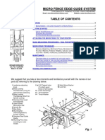 MicroFence Edge-Guide Inst