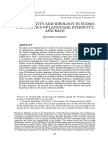 Sharkey J. 2007 Arab Identity and Ideology in Sudan the Politics of Language Ethnicity and Race2 Annotated