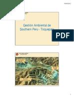 Gestión Ambiental de Southern Peru