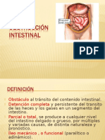 Obstr Intestinal