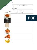 LESSON PLAN 1 - Grammar Worksheet Advanced