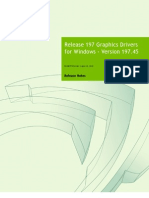 Release 197 Graphics Drivers for Windows - Version 197.45