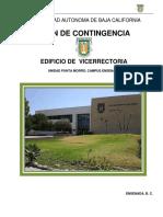 Plan Contingencia UABC Vicerrectoria