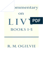 R. M. Ogilvie-A Commentary on Livy_ Books I-V-Clarendon Press (1965)