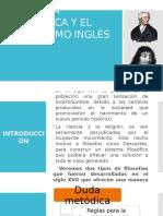 La Duda Metódica y El Empirismo Inglés