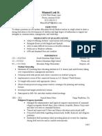 resume leal 74