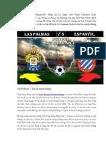Ty So Bong Da Truc Tuyen Las Palmas vs Espanyol