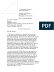 US Department of Justice Civil Rights Division - Letter - lofc79