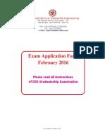 IIIE Feb 16 Form