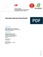 7721005 Welding Repair Procedure