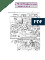 Furuno Model FR-360 Schematics