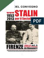 Atti Convegno Stalin 60