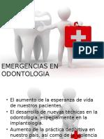 Emergencias en Odontologia