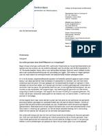 Een brief van de burgemeester en wethouders van Rotterdam aan de gemeenteraad, over Waterfront