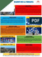 Actividades de la Escuela de Español 25 Abril - 01 Mayo