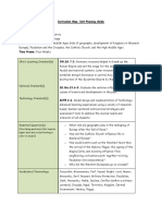 artifact- unit planning guide