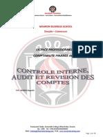 Cours Controle Interne Audit Et Revision Des Comptes
