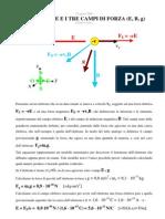 L'Elettrone e i tre campi di forza (E, B, g)