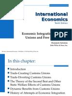 Ch.10 Economic Integration