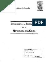 Introducción a La Epistemología (Gianella, Alicia)