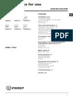 Manuale Lavatrice IWSD 71051