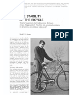 The stability of the bicycle