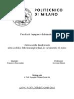 [Francesco Bucciantini] Utilizzo Delle Trasformate Nella Codifica Delle Immagini Fisse, In Movimento Ed Audio