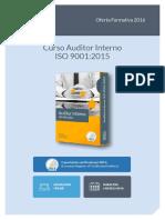 Curso Online Auditor Interno Iso 9001 2015