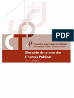 Glossario Das Financas Publicas