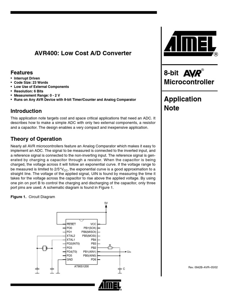 An Low Cost Ad Converter With Analog Or To Digital 8 Bit Comparator Circuit Diagram Capacitor