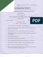 Anna University Question Paper Thermodynamics