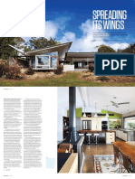 Sanctuary magazine issue 11 - Spreading its Wings - Maleny, QLD green home profile