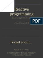 Reactive Programming With Reactjs