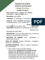 Plano de Aula 01 04 2016 10ª