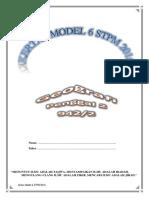 Kertas Model 6 Geografi STPM Penggal 2 2016