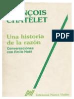Una Historia de La Razon Francois Chatelet