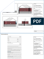 planning application and feasibility study