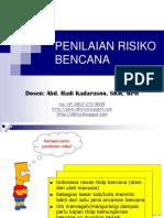 Penilaian Risiko Bencana