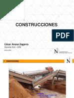 Construc - 02 Cimentaciones - Estructruas Aporticadas y Albañilería