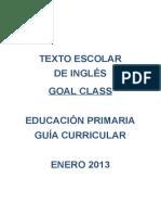 Programacion Curricular Inglés Primaria