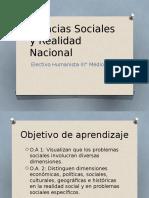 Ciencias sociales realidad nacional