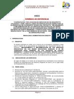 TDR Arq. Diseñador
