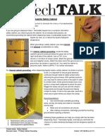 TT Safety Cabinet Grounding