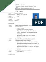 CV Anjar Taufik Hidayat English