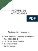 Informe de Actividadesn