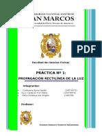 Informe 01 Física IV