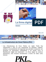 La Firma Digital en El Perú