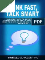 Think Fast, Talk Smart
