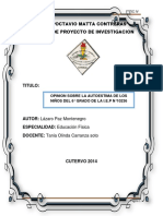 Proyecto Lazaro Paz Montenegro